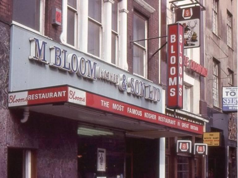 Blooms Restaurant, 1977