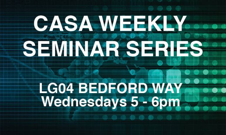 CASA Seminars