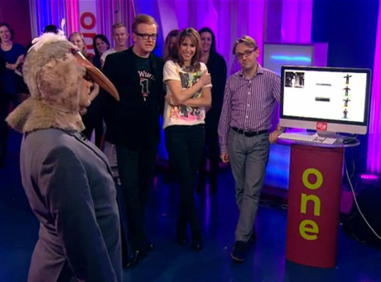 Pigeon Sim on The One Show