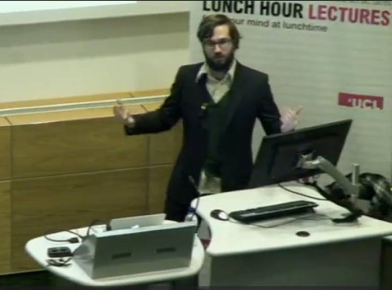 Martin's lecture on Social Physics in the Big City