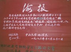 SunYatSen University, 1986
