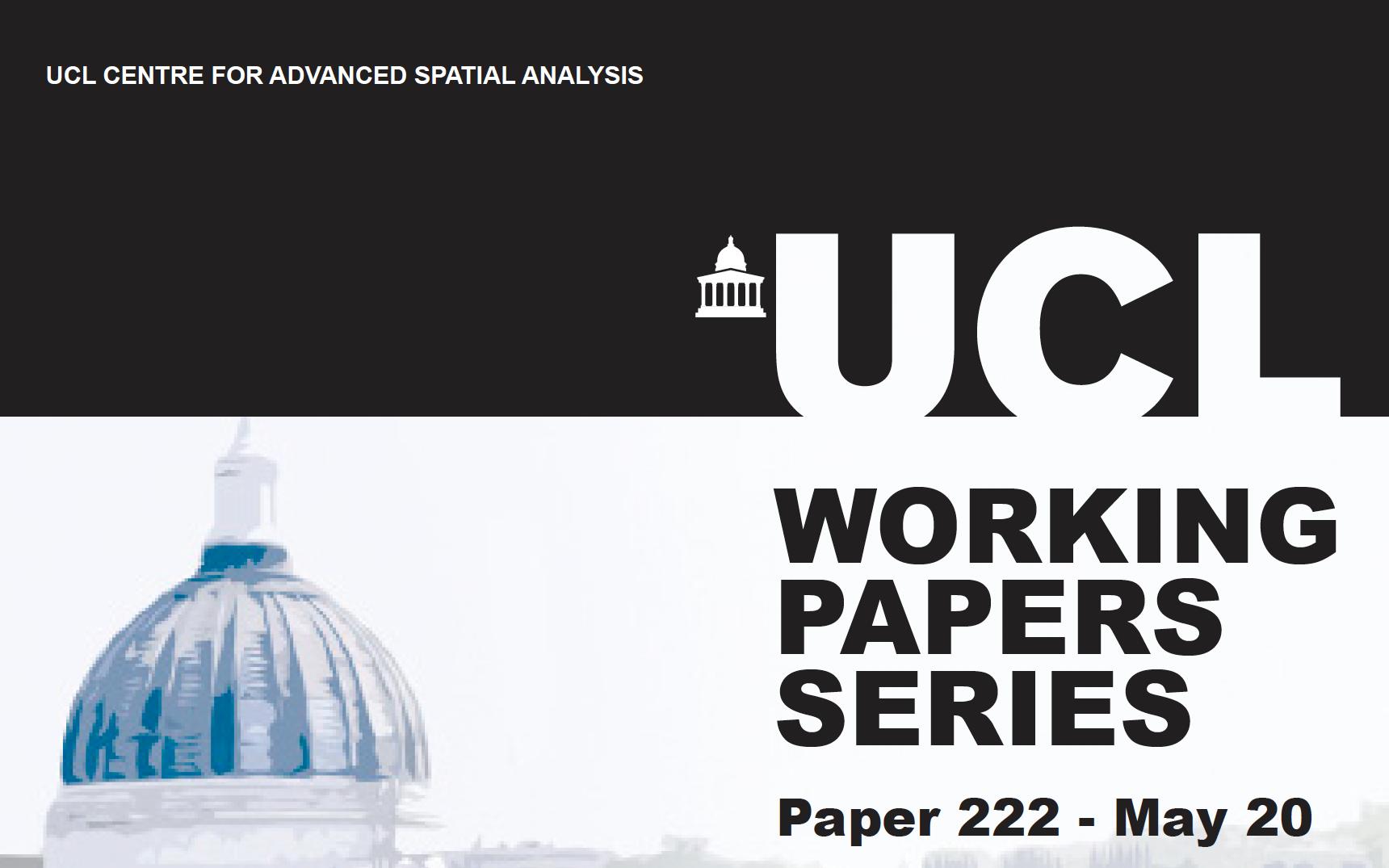 CASA Working Paper 222