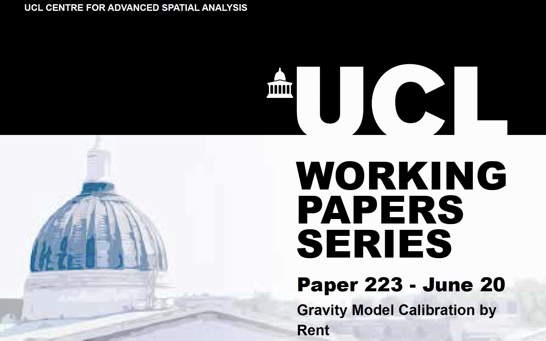 CASA Working Paper 223