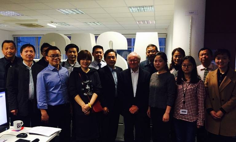 CASA hosts a visit by delegates from Wuhan, Hubei Province, China