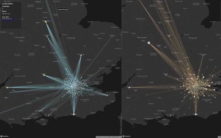 London Migration Visualisation