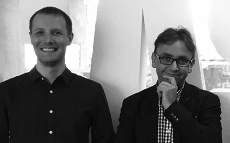 Andy Hudson-Smtih (Right) and Adam Dennett