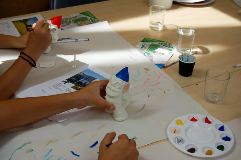 Painting Gnomes