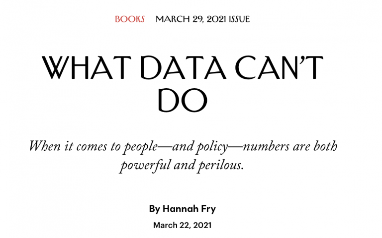 Hannah-Fry-New-Yorker-What-Data-Cant-Do