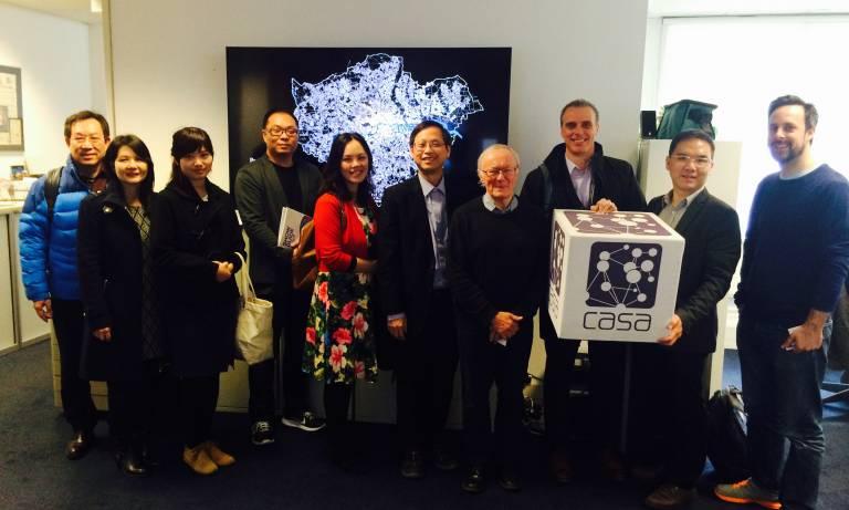 Hong Kong Smart City Consortium Visits CASA