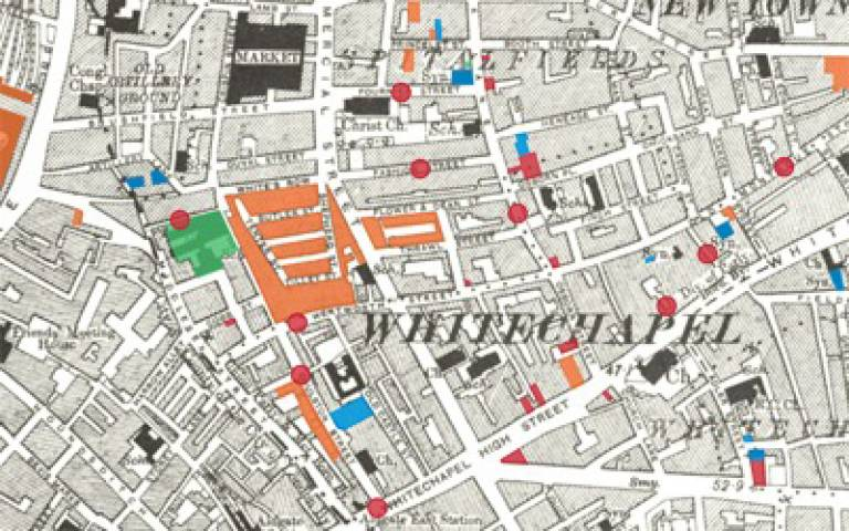 Memory Map of the Jewish East End