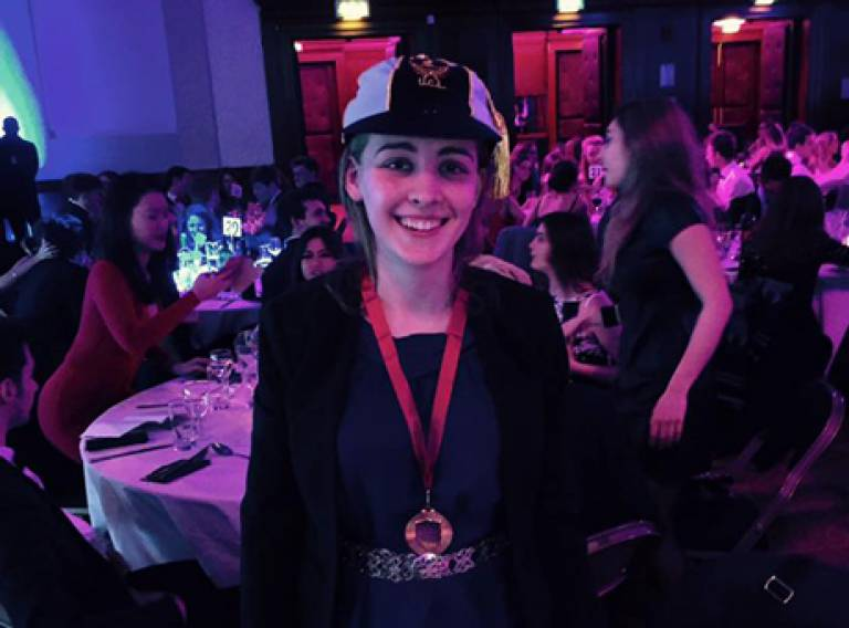 Claire Daniel wins Sportswoman of the Year