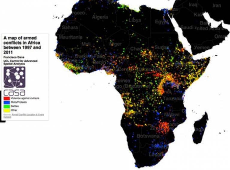 New Map of Armed Conflicts in Africa