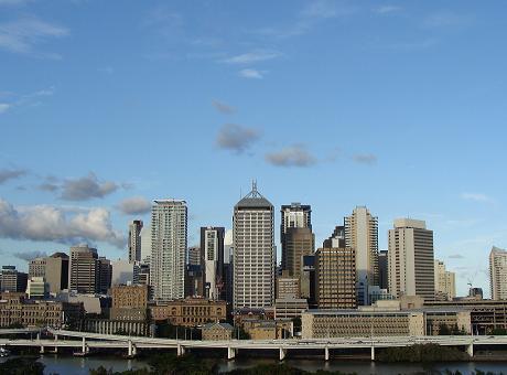 Queensland Australia City Skyline