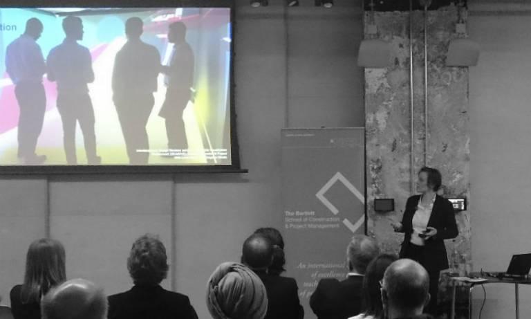 Professor Jennifer Whyte delivers keynote lecture on digital innovation in civil infrastructure