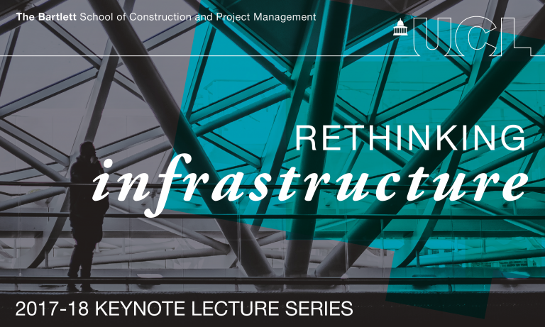 Rethinking infrastructure: 2017-18 keynote lecture series