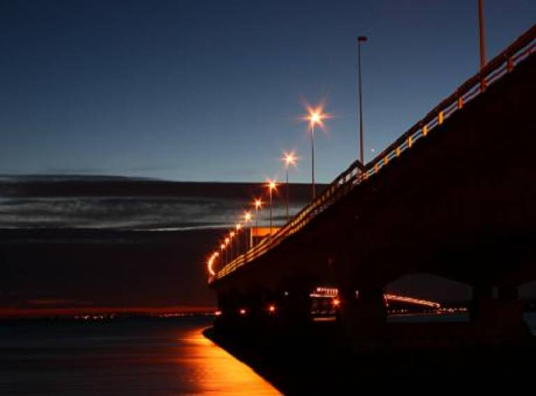 River Severn at Night