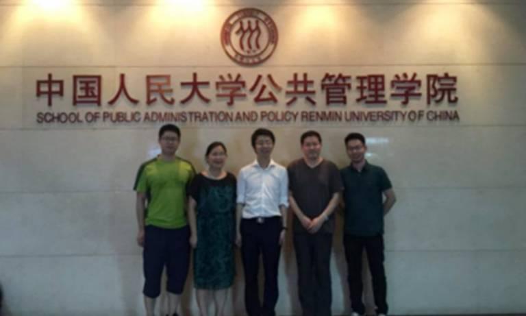 Xuxin Mao visits Chinese universities