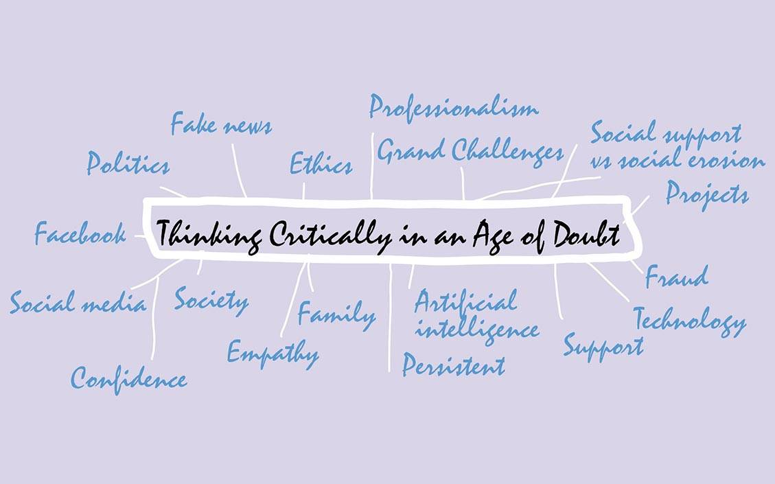 Thinking critically in an age of doubt