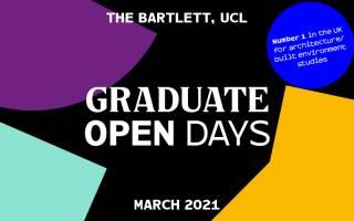 Bartlett graduate open day