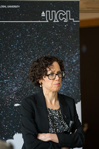 Professor Ingrid Gould Ellen, Furman Center New York, delivers keynote speech at Affordable Housing symposium at UCL