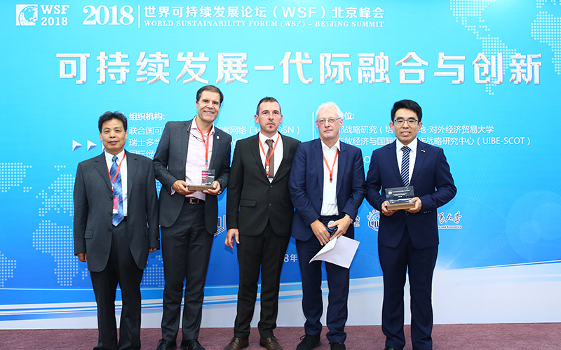 Dr Zhifu Mi wins World Sustainability Award