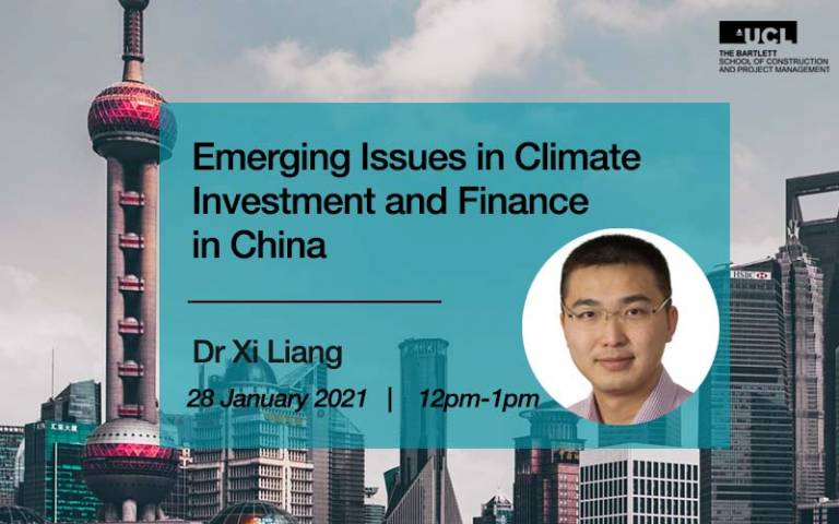 Keynote lecture with Dr Xi Liang
