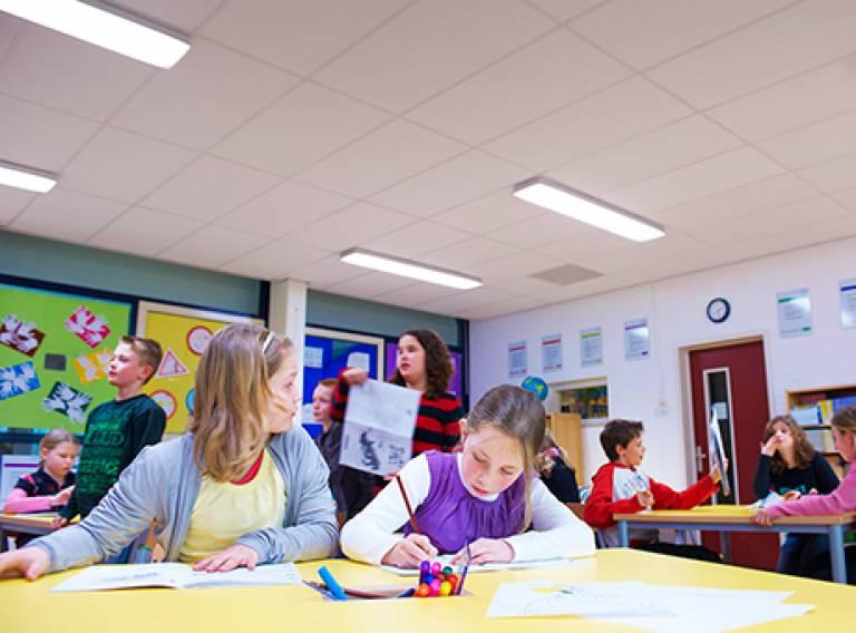 lighting in classrooms