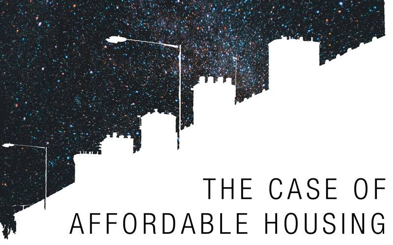 The case of affordable housing poster