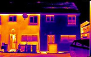 Building heat map