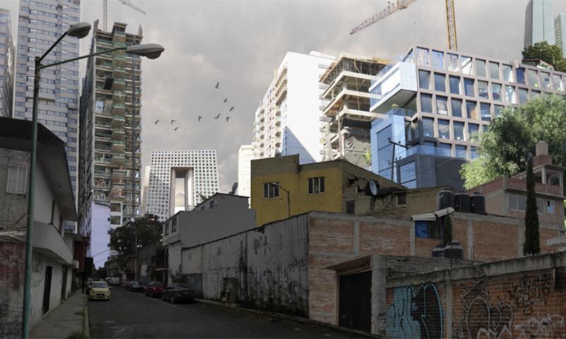 Socio-spatial processes in Mexico City