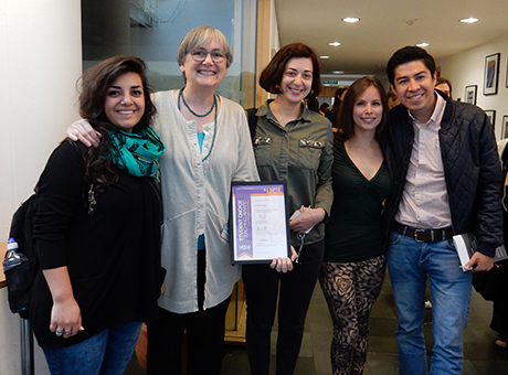 Caren Levy receives student choice award for outstanding teaching