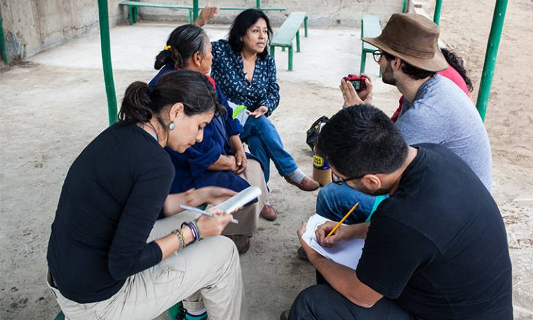 ESD fieldwork Lima