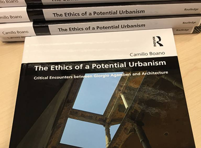 Copies of The Ethics of Potential Urbanism.