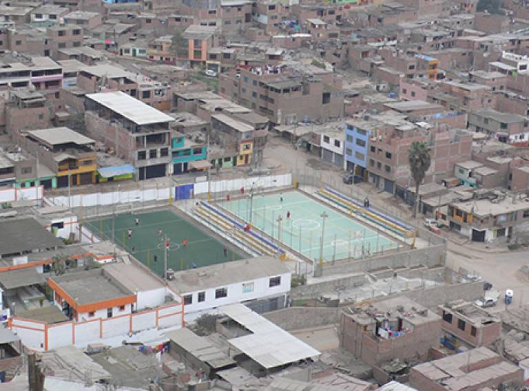 Self-built urban settlements - Peru,