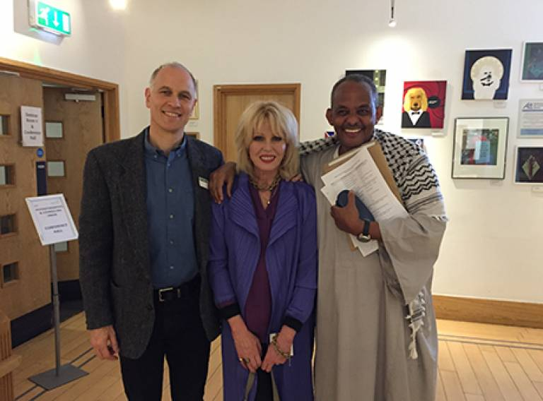 African Dr. Zeremariam Fre at Legacy and Pastoralists Livelihoods: A Cultural Night in London