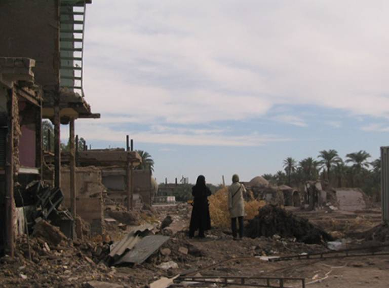 i-Rec Conference 2015: Reconstruction and Recovery in Urban Contexts. Image: Bam-Arefian, 2004
