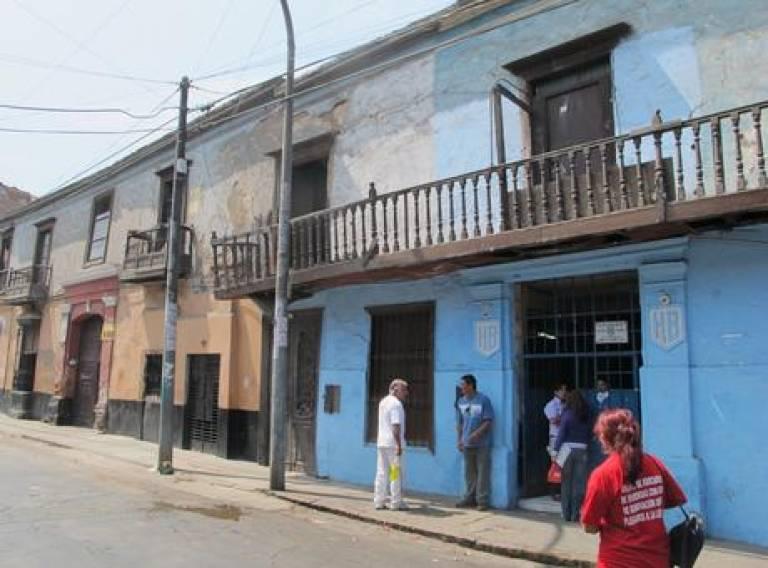Barrios Altos street