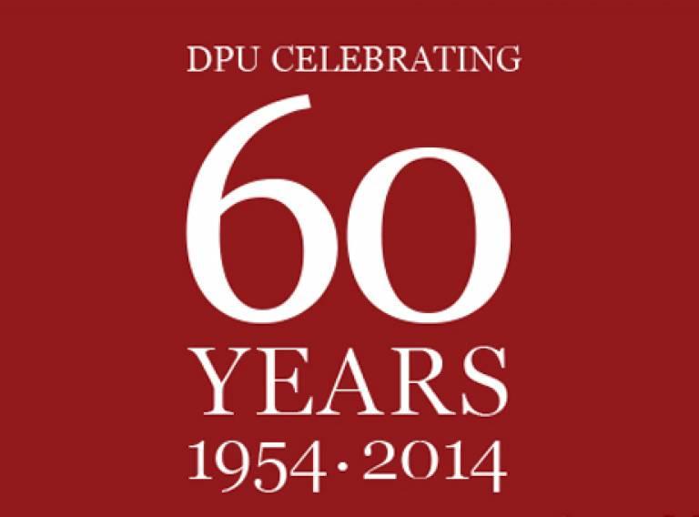 DPU 60th Anniversary 1954-2014
