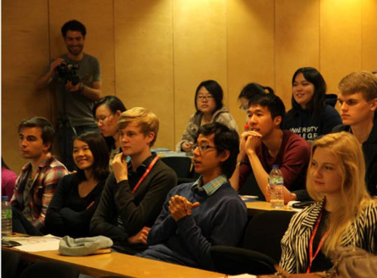 DPU is running the sustainable cities strand at the UCL Global Citizenship Programme 2014