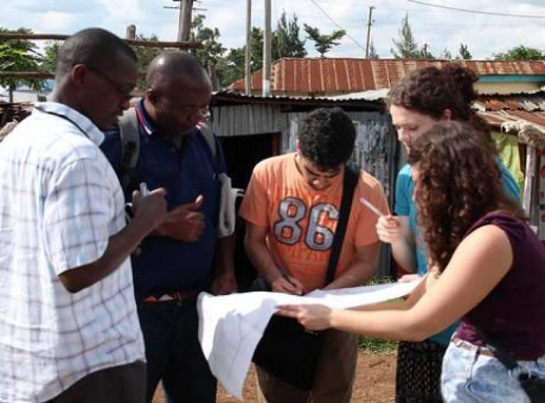 SDP students' research in Kenya, 2013