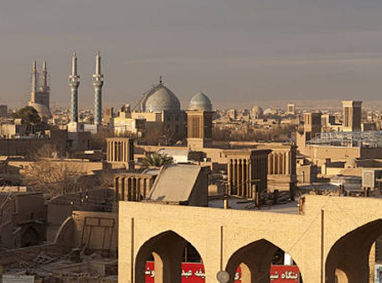 Silk Cities Platform. Image: Yazd, Iran by Georgios Giannopoulos (2010)