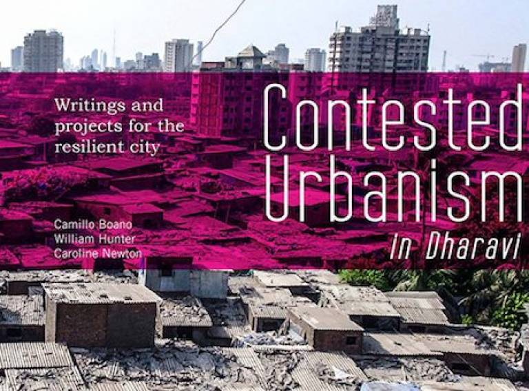 Contested Urbanism in Dharavi. Book cover