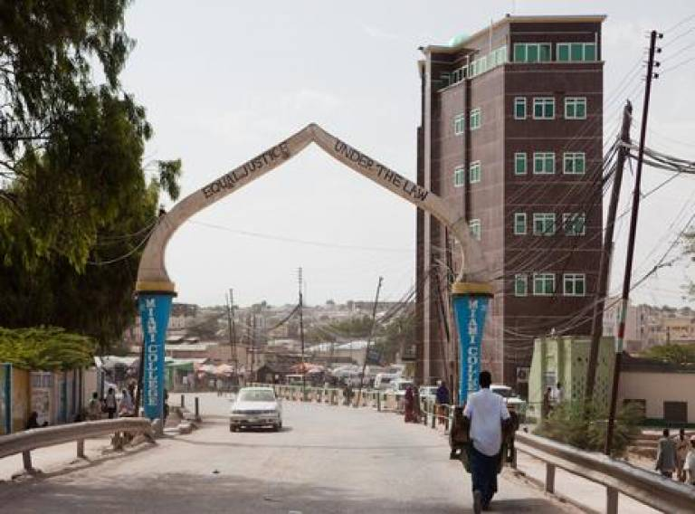 Somalia; equal justice under the law