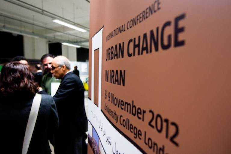 International Conference on URBAN CHANGE IN IRAN