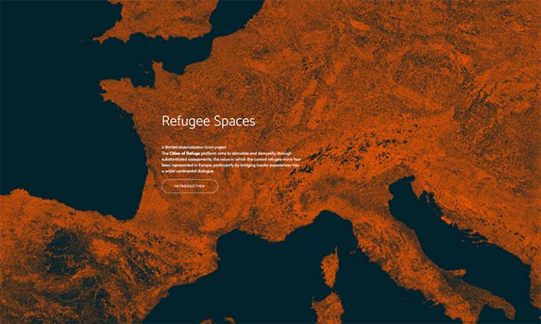 refugee spaces