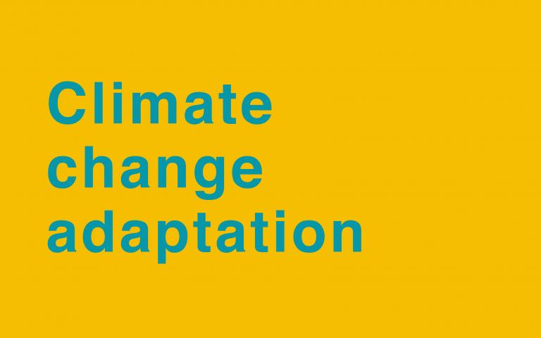 Episode 3: Climate change adaptation
