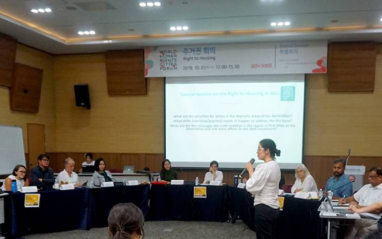 Special Session on the Right to Housing in Asia