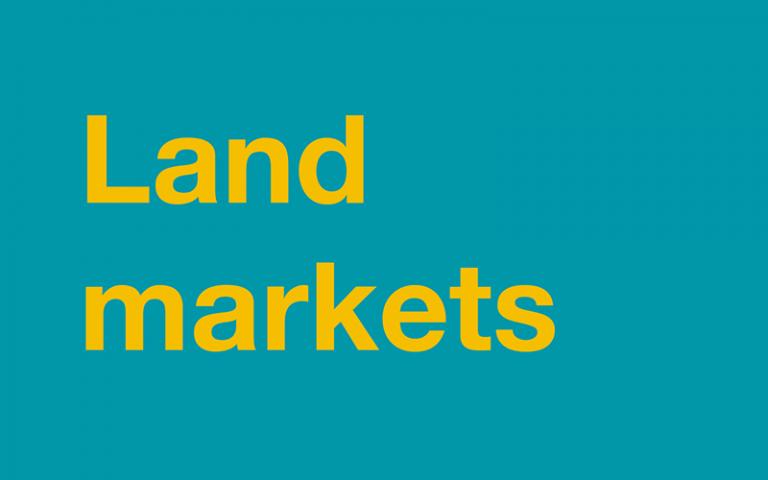 land markets
