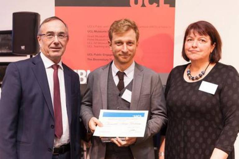 Alexandre Apsan Frediani wins Early Career Engager of the Year Award