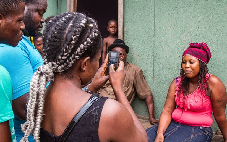 Lagos participatory video filming